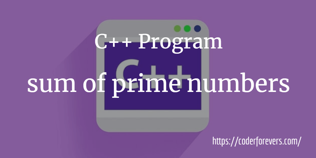 sum of prime numbers